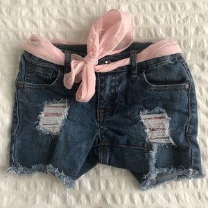 Guess toddler girl shorts